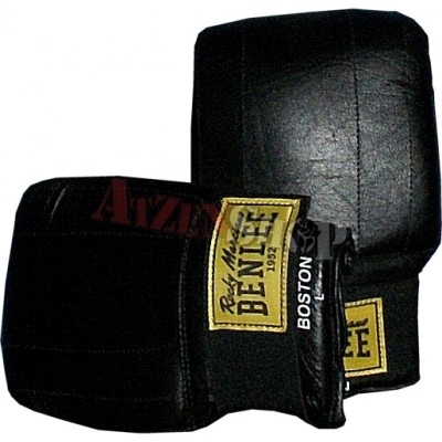 Benlee Rocky Marciano Leather Bag Mitts BOSTON black