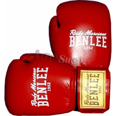 Benlee Rocky Marciano Leather Boxing Gloves FIGHTER red/black