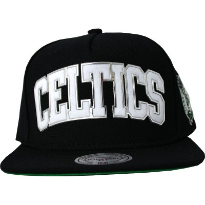 Boston Celtics Snapback Blacked Out | NBA | Mitchell & Ness
