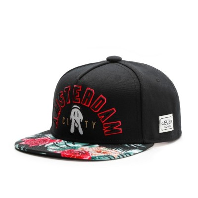 Cayler & Sons Amsterdam City Snapback black/mc