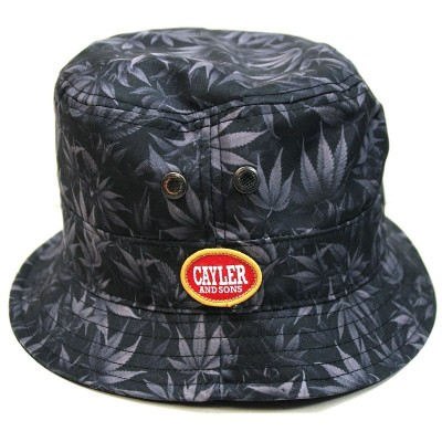 Cayler & Sons - Blunted Bucket Hat dark