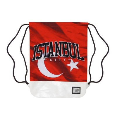 Cayler & Sons Istanbulz Gym Bag red/white/mc