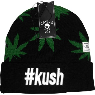 Cayler & Sons - Kush Beanie black/green/white