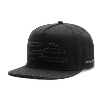 Cayler & Sons Ripped Snapback | Black Label