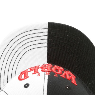 Cayler & Sons White Label - The World is yours Snapback Cap black/white/red