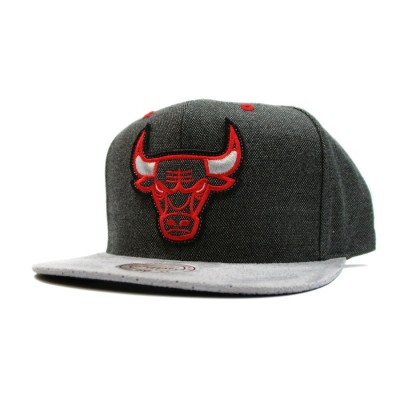 Chicago Bulls Cation Perforated Suede Snapback | NBA | Mitchell & Ness