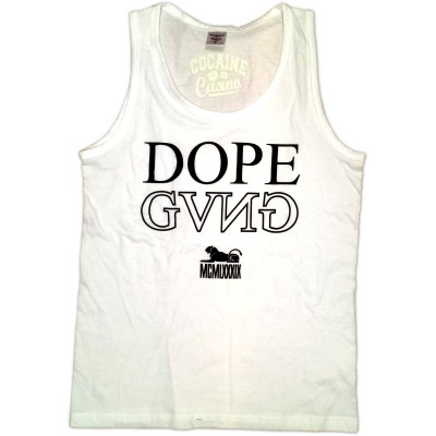Cocaine Casino - Dope Gang Tanktop weiß