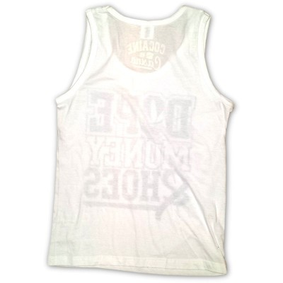 Cocaine Casino - Dope Money Hoes Tanktop weiß