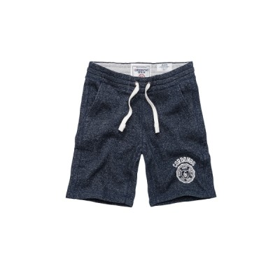 Cordon Sweat Short Piero navy charcoal