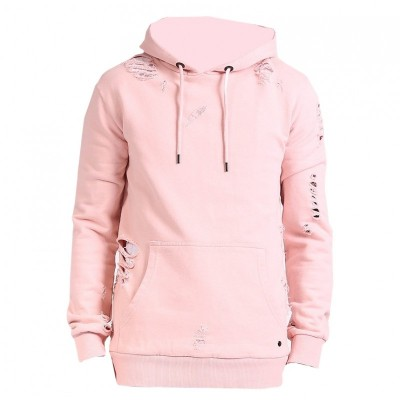 Criminal Damage Shoreditch Hoody Dusty/pink