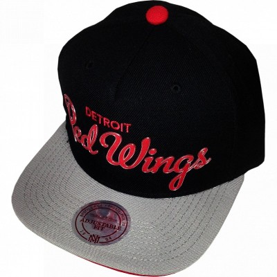 Detroit Red Wings Snapback Metall Signature | NHL | Mitchell & Ness