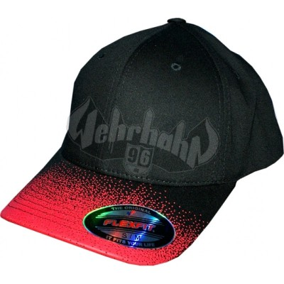 Flexfit Cap Fade black/red