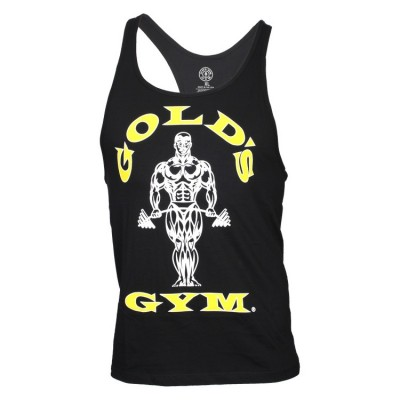 Golds Gym Stringer Tank Top Classic Black
