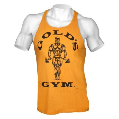 Golds Gym Stringer Tank Top Classic Gold