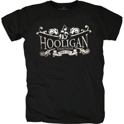 Hooligan T-Shirt Since 1993 schwarz