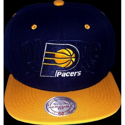 Indiana Pacers Snapback Outer Logo | NBA | Mitchell & Ness