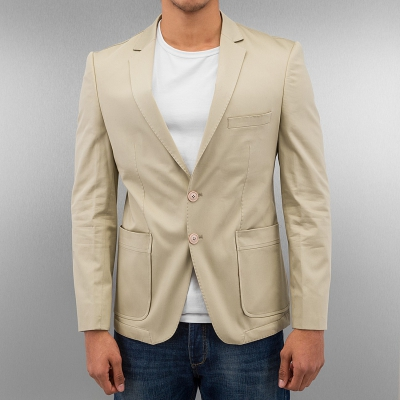 Just Rhyse And Friends Open Blazer Beige