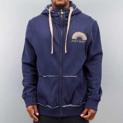 Just Rhyse Sun Zip Hoody Navy