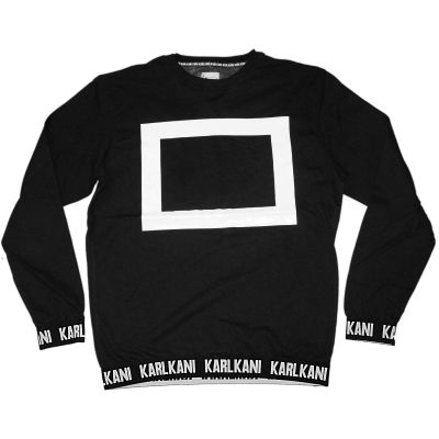Karl Kani - Sweater Becrux black (SALE)