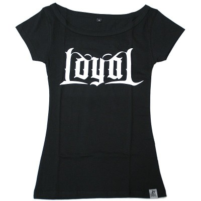 Kontra K - Loyal Girlie Shirt schwarz