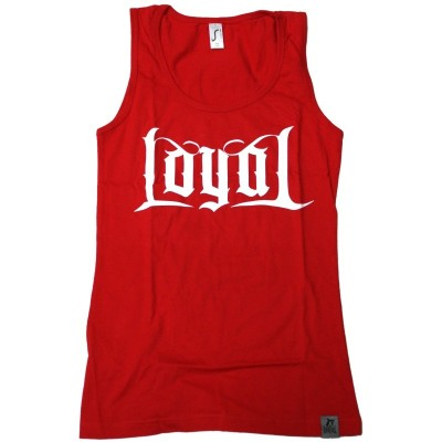 Kontra K - Loyal Girlie Tank Top rot