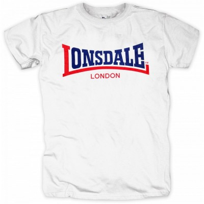 Lonsdale T-Shirt Two Tone weiß