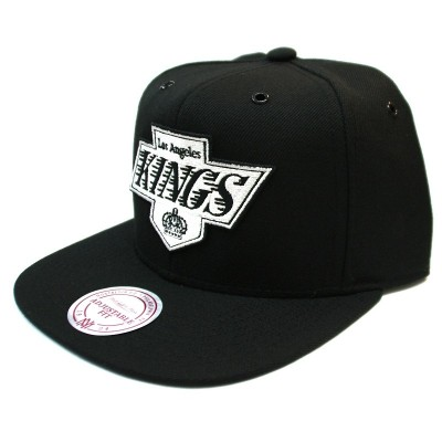 Los Angeles Kings Snapback Black White | NHL | Mitchell & Ness