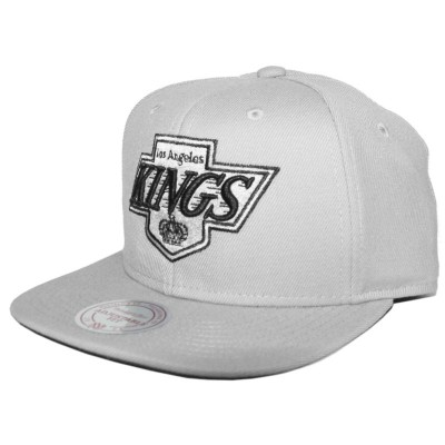 Los Angeles Kings Snapback Wool Solid grey | NHL | Mitchell & Ness