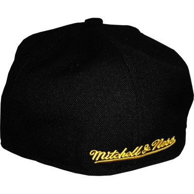 Los Angeles Lakers Fitted Cap black | NBA | Mitchell & Ness