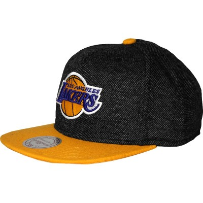 Los Angeles Lakers Snapback Reverse Wool | NBA | Mitchell & Ness