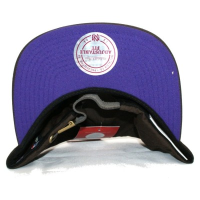 Los Angeles Lakers Waxed Canvas Snapback | NBA | Mitchell & Ness