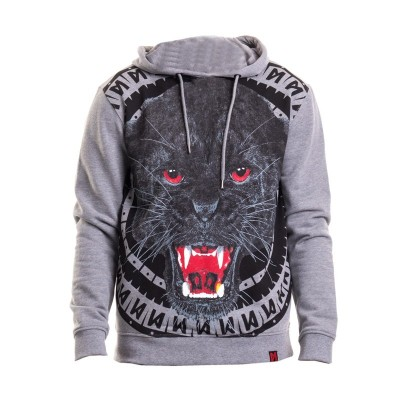 Maskulin Hoodie Panther heather grey (SALE)