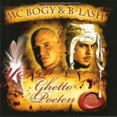 Mc Bogy & B-Lash - Ghetto Poeten (CD)