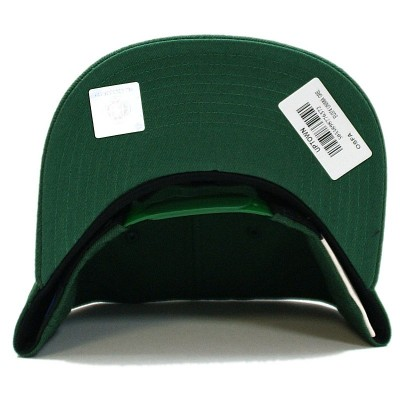 Miami Hurricanes Uptown Snapback Cap green | Mitchell & Ness | NCA