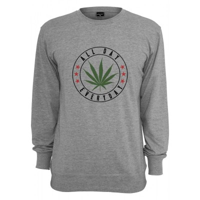 Mister Tee - All Day Crewneck heather grey