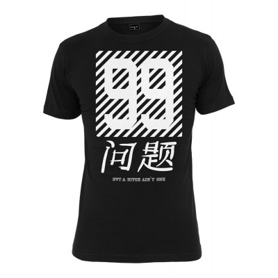 Mister Tee - Chinese Problems (99 Problems) T-Shirt schwarz
