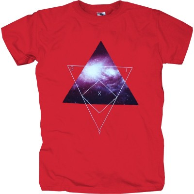 Mister Tee - T-Shirt Galaxy red