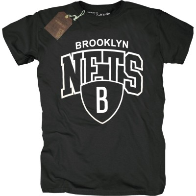 Mitchell & Ness - Brooklyn Nets Arch Logo T-Shirt schwarz