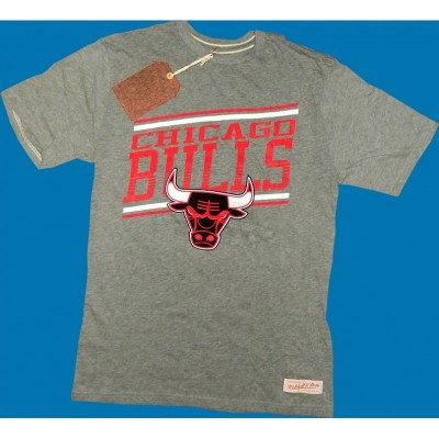 Mitchell & Ness - Chicago Bulls Assist Shirt grau