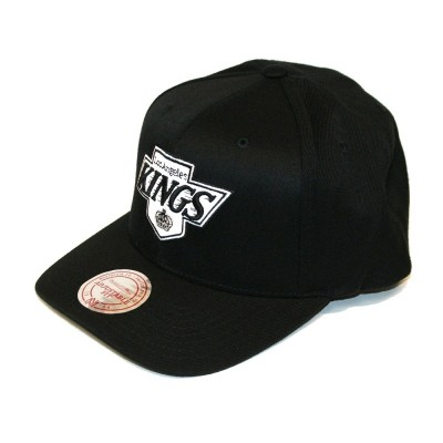 Mitchell & Ness Los Angeles Kings 110 Curved Snapback black
