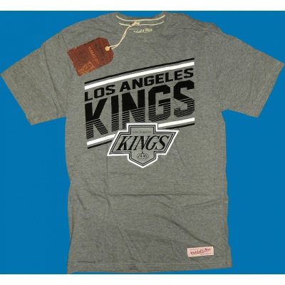 Mitchell & Ness - Los Angeles Kings Assist Shirt grau
