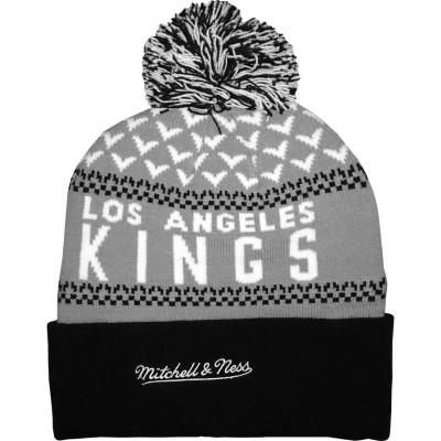Mitchell & Ness - Los Angeles Kings Beanie grey/black/white
