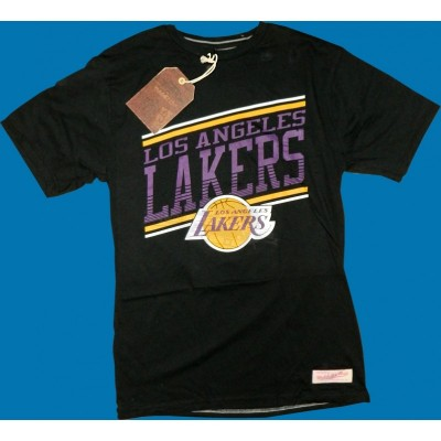 Mitchell & Ness - Los Angeles Lakers Assist Shirt schwarz