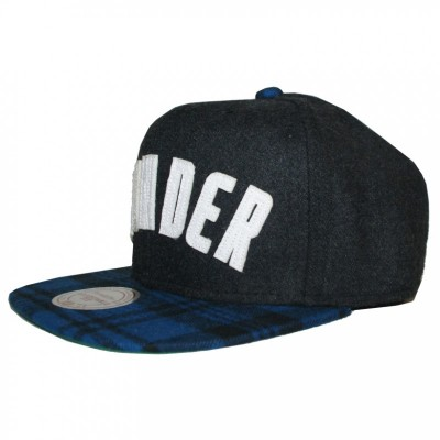 Oklahoma City Thunder Snapback Letterman | NBA | Mitchell & Ness