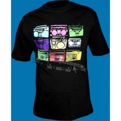 Orgi Wear - Ghettoblaster T-SHIRT