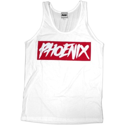 Phoenix Clothing - Phoenix Icon Tank Top white-red