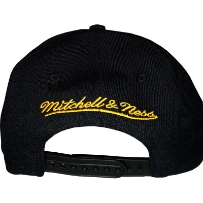 Pittsburgh Penguins Basic Vintage Logo Schwarz | NHL | Mitchell & Ness
