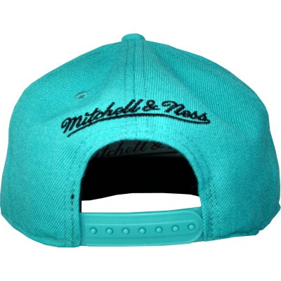San Antonio Spurs Snapback Wool Solid Teal | NBA | Mitchell & Ness
