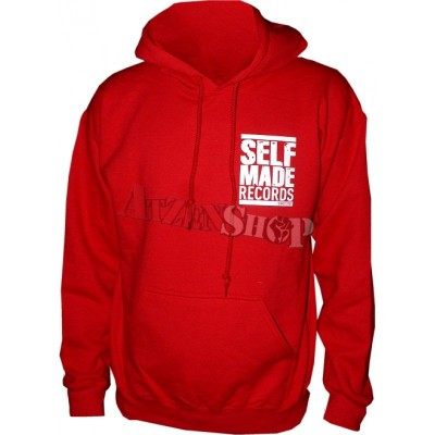 Selfmade Records Hoodie since 2005 rot