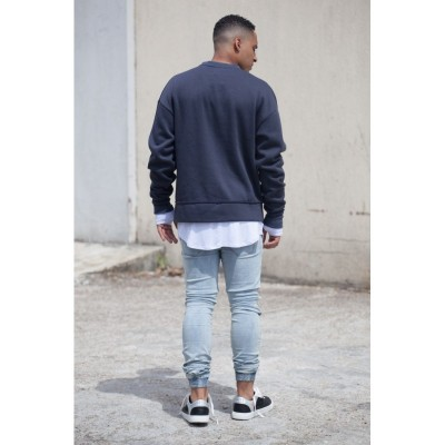 Sixth June Oversized Crewneck dark grey